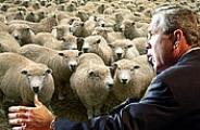 Bush speaks to the Sheeple - (c) 2003 New Nation News