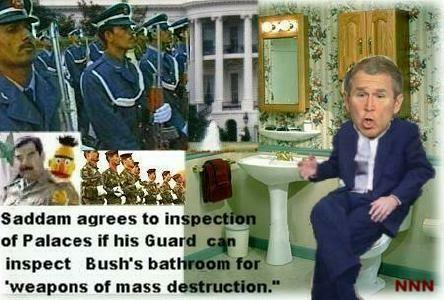 Bush's bathroom