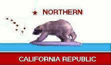 Flag of the Northern California Republic