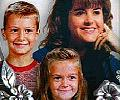 Kim Camm and two kids Brad and Jill