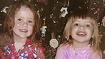 Riley Jane Lawrence, 4, and Claudia Wadlington, 5