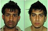 'Despicable': Rizwan Ahmad, 24, (left) and Hassan Siddique, 19