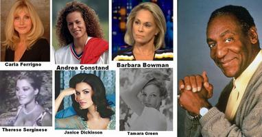 Bill Cosby's white female rape victims