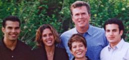 Jeb Bush and family