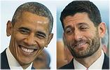 Obama and Paul Ryan