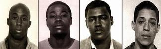 """Zebra"" killers - Jessie Cooks, Manuel Moore, J.C. Simon and Larry Craig Green"