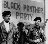 Black Panther National Chairman Bobby Seale and Huey Newton