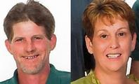 Eddy Earl Hall, 53, and his wife, Connie