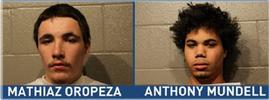 Mathiaz Oropeza and Anthony Mundell