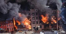 Brooklyn fire after looting, riots...