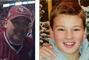 Daryl Horn, 50, and his 14-year-old son Joseph
