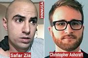 Zia Zafar and victim Christopher Ashcraft