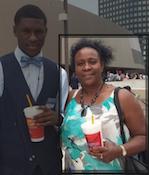 black suspect & dead mammy