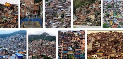 slums of Brazil