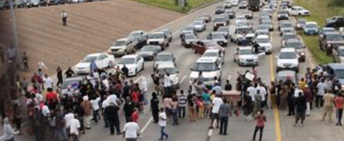 niggers-blocking-highway